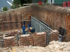 Rosheen, shuttering to RC retaining wall